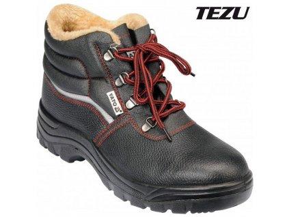 Boty pracovní kotníkové zimní TEZU vel. 43 Yato YT-80845