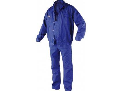 Klasický pracovní oděv - montérky. Kalhoty s laclem a blůza zapínaní na knoflíky, vhodné pro jakoukoli práci vyžadující použití ochranných oděvů.