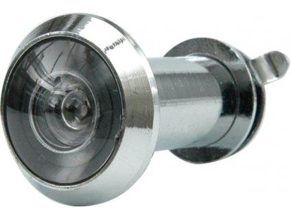 Kukátko do dveří 35 - 50 mm 200° stříbrné Vorel TO-77921