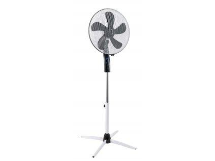 """Stojanový ventilator 16"""" 55 W s nočním režimem a dálkovým ovládáním"""