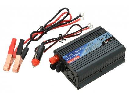 Trafo 12/230V 300W + USB Compass 07112