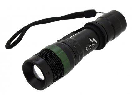 Svítilna kapesní LED 150lm ZOOM 3 funkce Cattara 13162