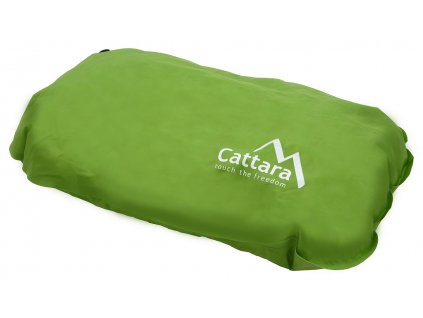 Polštář samonafukovací 50x30x13cm zelený Cattara 13320