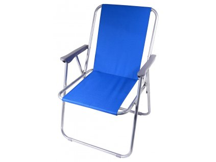 Židle kempingová skládací BERN modrá Cattara 13455