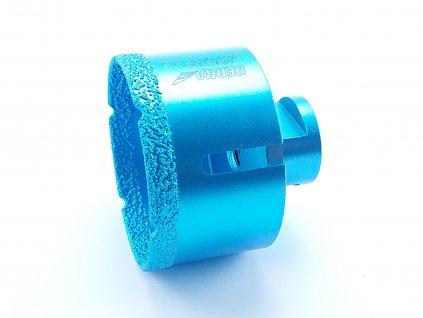 Diamantová vrtací korunka Vacuum brazed do úhlové brusky; průměr 68mm