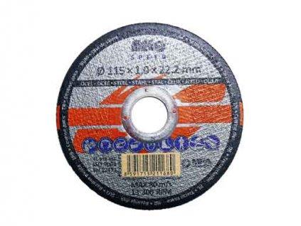Řezný kotouč na kov 115x1,0x22mm MAGG SPEED RKQS11510220