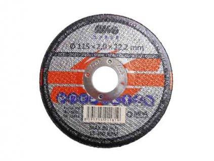 Řezný kotouč na kov 115x2,0x22mm MAGG SPEED RKQS11520220
