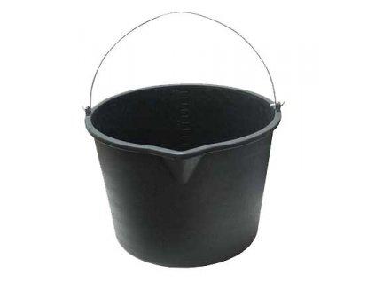 Vědro stavební s držadlem 5l - černé