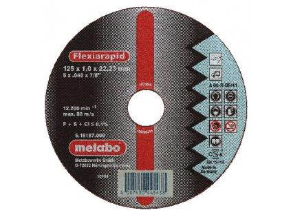 METABO - řezný kotouč - nerez-FLEXIRAPID 350x3,5x25,4 mm