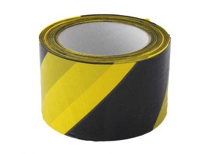 Výstražná páska žluto/černá 70mm x 200m