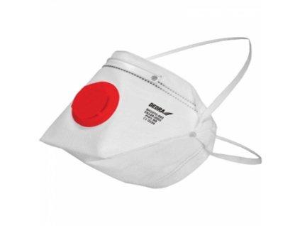 Protiprašný respirátor s 1 ventilem, FFP1 10 ks