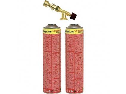 Hořák pro pájení s 2x Multigas 300 ROTHENBERGER 18078