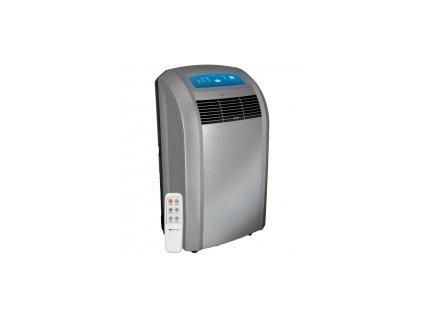 Klimatizace přenosná 3,5 kW stříbrná, dálkové ovládání