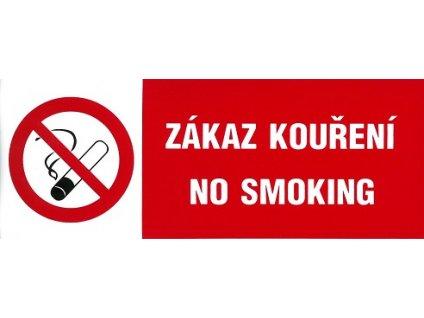Zákaz kouření - No smoking 210x70mm - samolepka