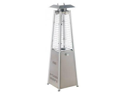 MEVA - stolní topidlo Pyramida mini. S regulátorem a hadicí