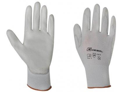 Pracovní rukavice MICRO-FLEX velikost 12 - blistr GEBOL 709246G