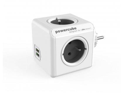 POWERCUBE ORIGINAL USB bílá / šedá