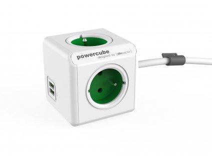 POWERCUBE EXTENDED USB bílá /zelená