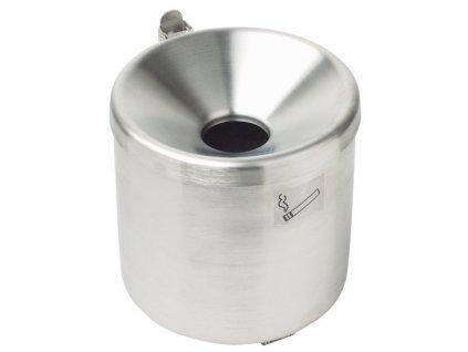 MEVA - popelník nástěnný průměr 150mm nerez