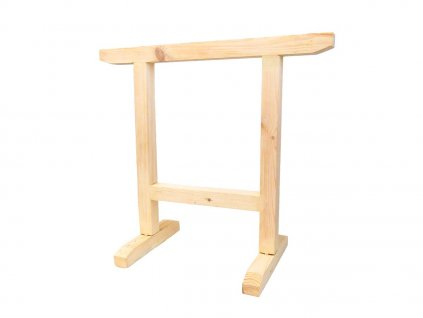 Dřevěná koza s podstavcem - 90x40x80cm MAGG 120180  + bytelná koza z masivu