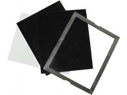 GÜDE - set svářecích skel 110x90mm