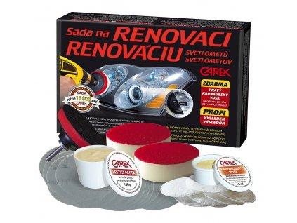 Sada na RENOVACI plastových světlometů (VELKÁ) CAREX 90710
