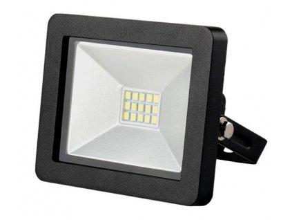 LED venkovní reflektor SLIM, 10W, 700lm, 3000K, černý