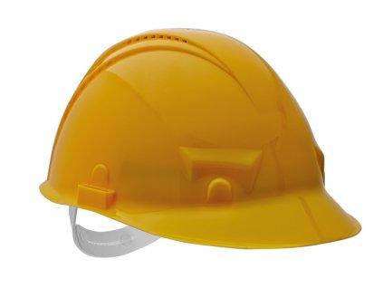 PALADIO přilba ventilovaná - žlutá, norma EN397