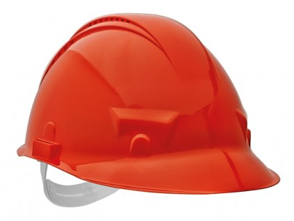 PALADIO přilba ventilovaná - oranžová, norma EN397
