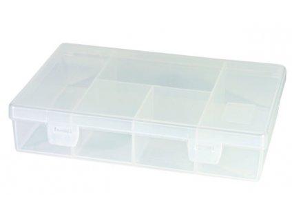 Plastový organizér 181x125x40mm - 5 přepážka TOOD TO711
