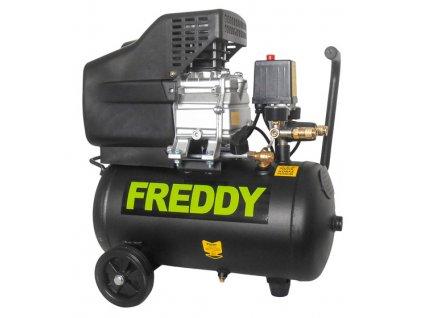 FREDDY - olejový kompresor 1,5kW, 2,0HP, 24l