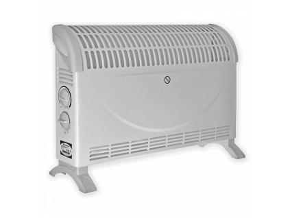 Elektrický přímotop - teplomet 2000 W DESCON DA-K2000  + termostat