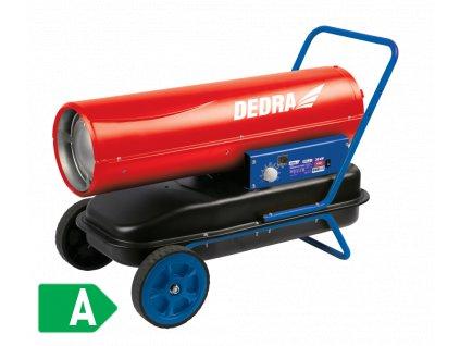 Naftové topidlo 30 kW s regulací teploty  + vestavěný ventilátor a elektronická regulace teploty