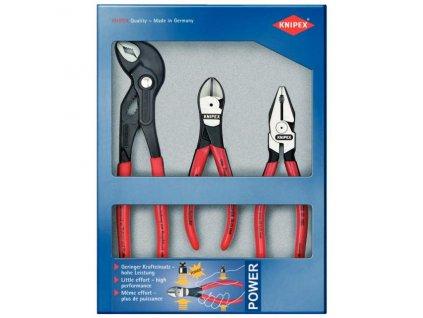 Sada profi kleští 3 díly - POWER SET KNIPEX 002010