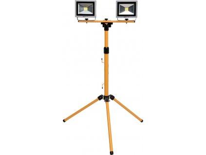 Lampa COB LED na stojanu 2x 20W Yato YT-81789