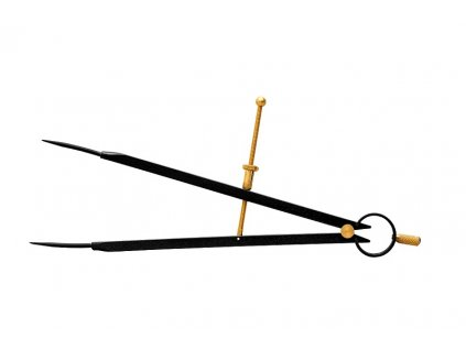 Kružidlo s pružinou 10-450mm KINEX 2070-02-300
