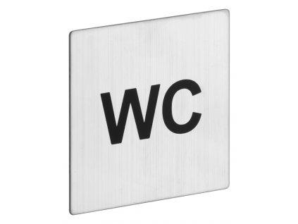 ROSTEX - rozlišovací znak čtvercový - WC