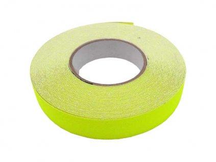 Protiskluzová samolepicí páska 25mmx18,3m - fluorescenční MAGG 110072