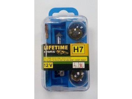 Autožárovka H7  55W 12V XENON set 2ks MAGG 00740
