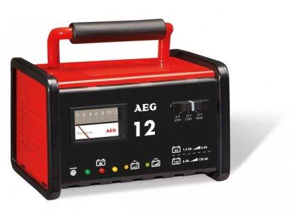 AEG - Nabíječka baterií kovová 12A   6 - 12V  2 - 130Ah