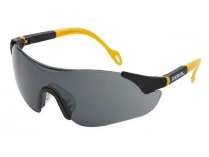 Ochranné brýle SAFETY COMFORT - tmavé