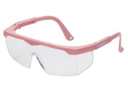Ochranné brýle SAFETY KIDS - růžové