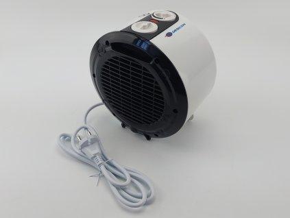 Elektrický přímotop s keramickým topným tělesem 1800 W DESCON DA-T180C  + termostat a keramické těleso