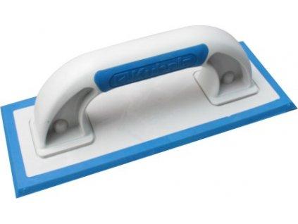 Hladítko plastové 95x240mm - guma pod úhlem KUBALA 0370