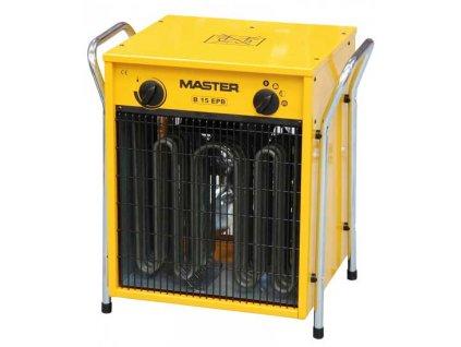 Elektrické topidlo o max. výkonu 15 kW - napětí 400V MASTER B15EPB