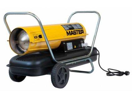 Mobilní naftové topidlo s ventilátorem - 29kW MASTER B100CED