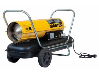 Mobilní naftové topidlo s ventilátorem - 44kW MASTER B150CED