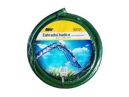"""Zahradní vyztužená hadice na vodu černo-zelená LIGHT 3/4"""" - 50m"""