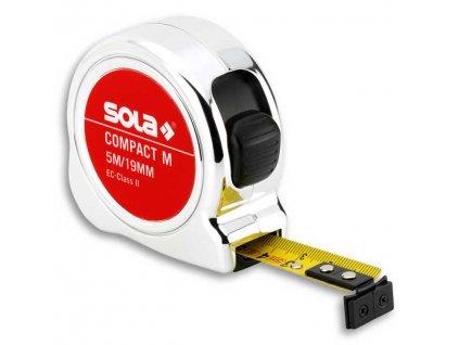 Compact M CO 5m x 19mm svinovací metr s magnetem SOLA 50520501