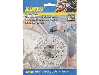 KINZO - Protiskluzové podložky 150ks (2m)